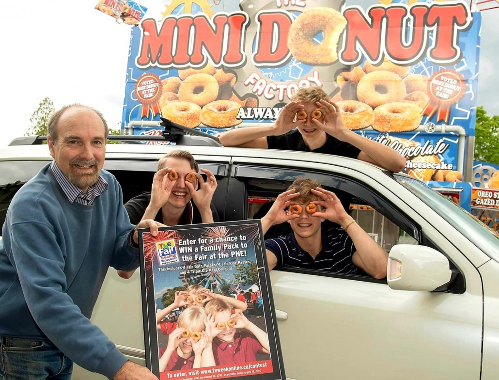 mini donuts at PNE Vancouver